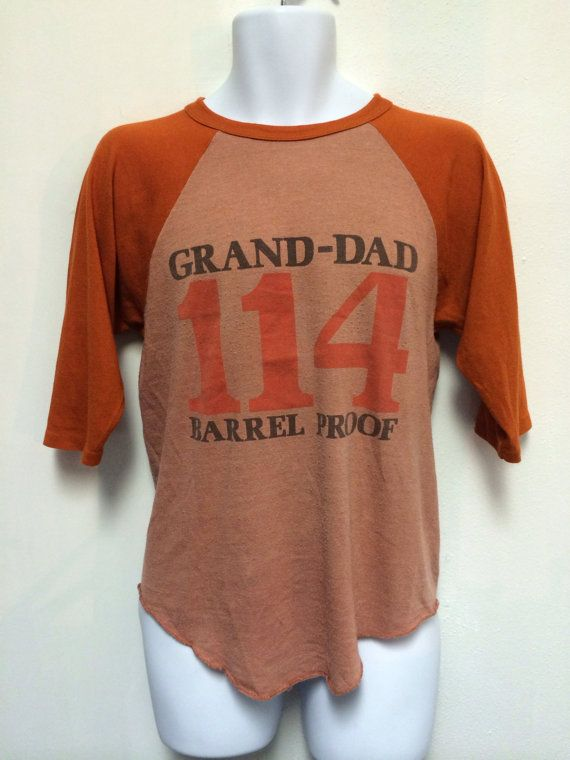 5dcce298f 70s Vintage OLD GRANDDAD Shirt Kentucky Bourbon by sweetVTGtshirt, $45.00