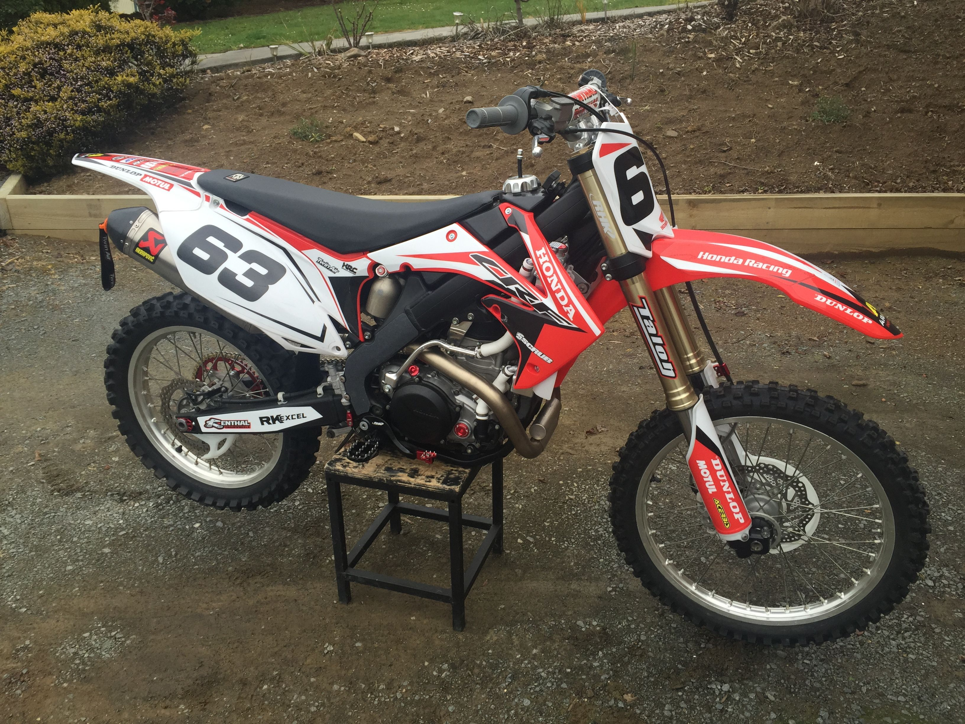 Vintage motocross number plate graphics - Honda Dirt Bike Graphics Mx Dirtbike Honda