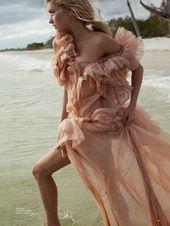 Elsa Hosk is a Beach Siren in Harpers Bazaar Greece Cover Story