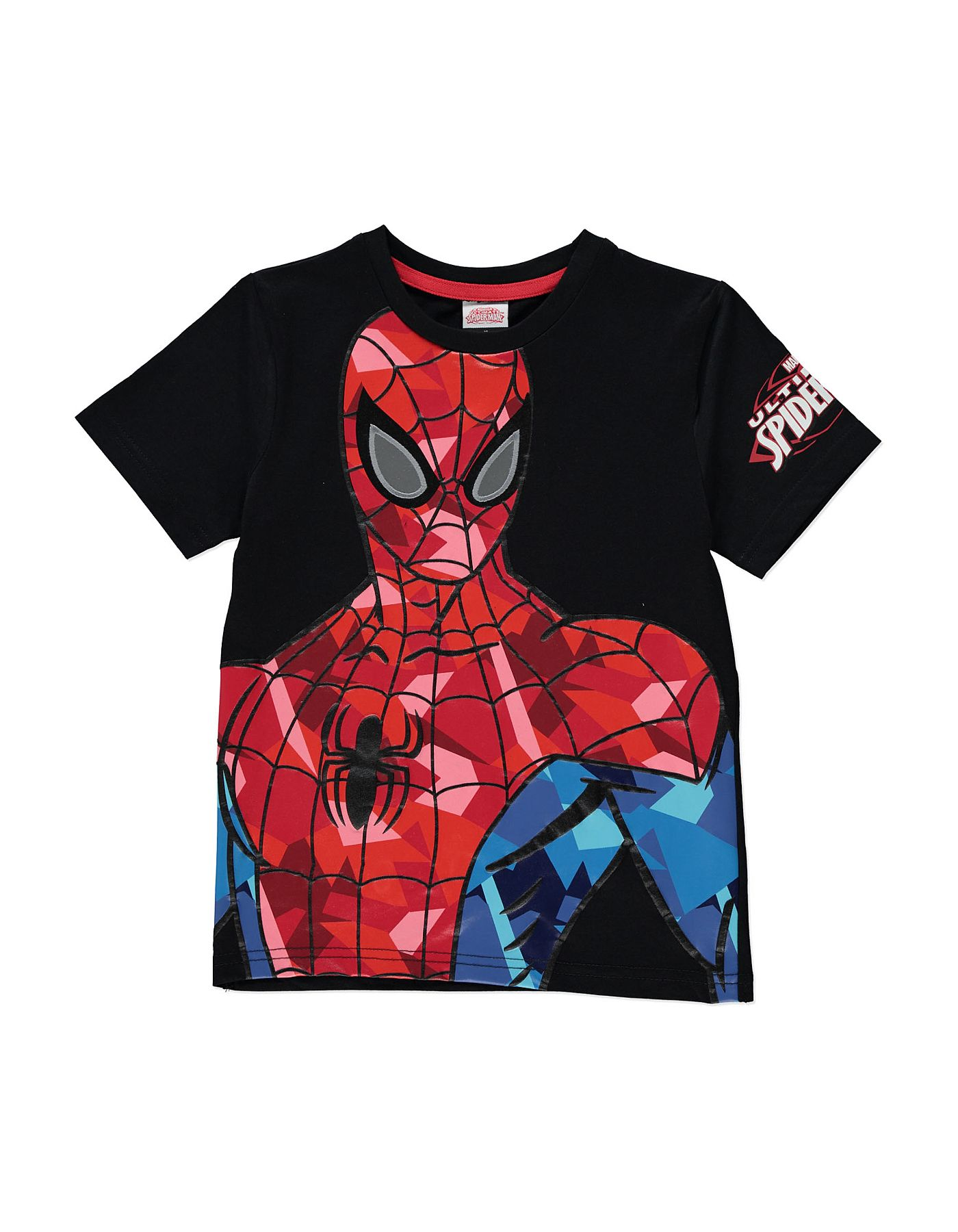 d0a28699be Textured Spiderman T-shirt | Boys | George at ASDA | Dev 2nd bday ...