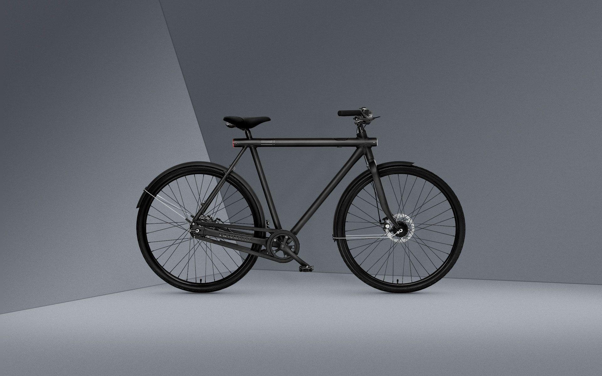 Smart with Straight frame - VanMoof | Bike | Pinterest | Urban bike ...