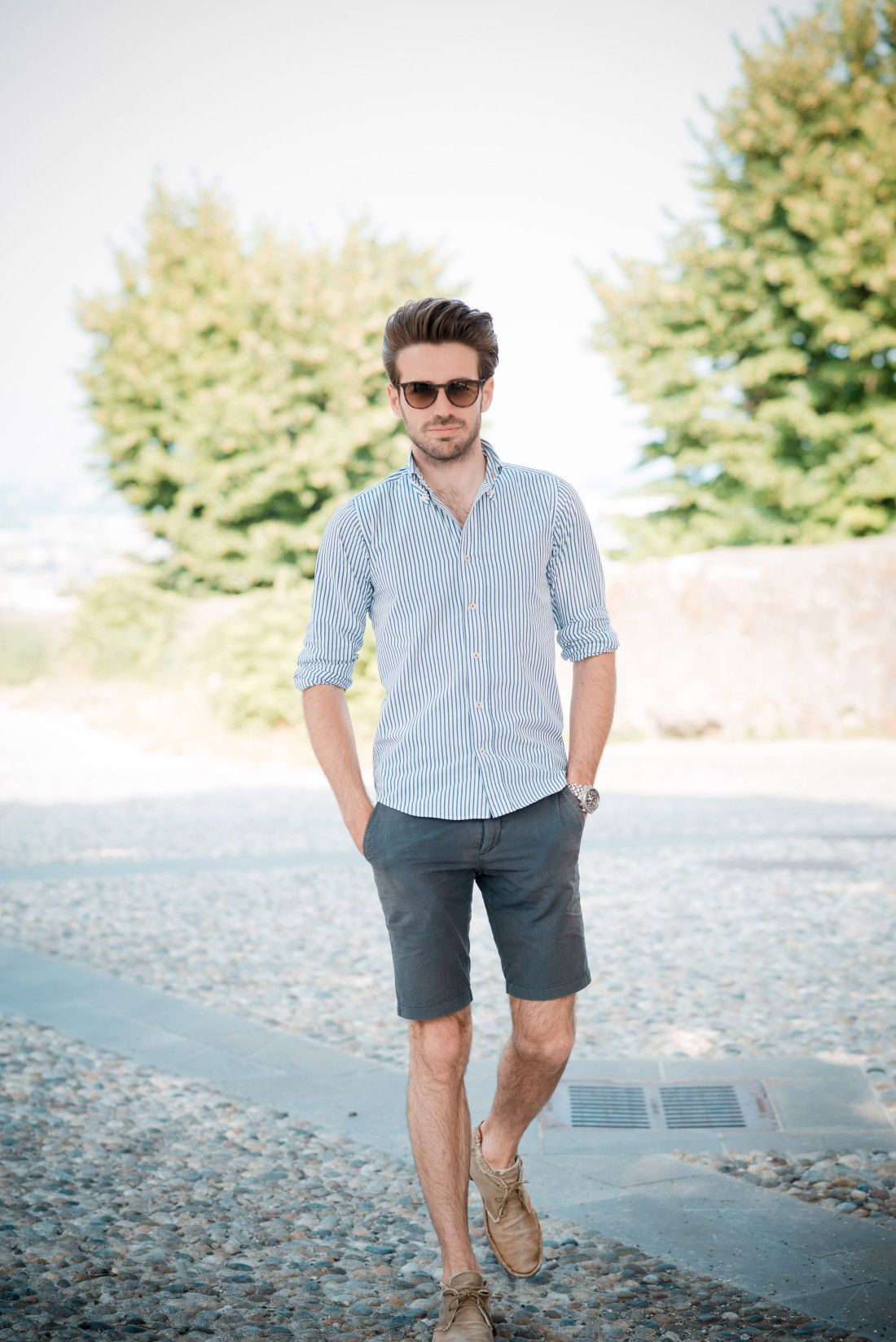 60 Summer Outfits For Men – Stylish Warm Weather Clothing Ideas Are you a man looking for some sweet summer style? Look no further than our quick guide of summer essentials that will have you primed and ready for everything from that casual cookout to the pool party of the season.
