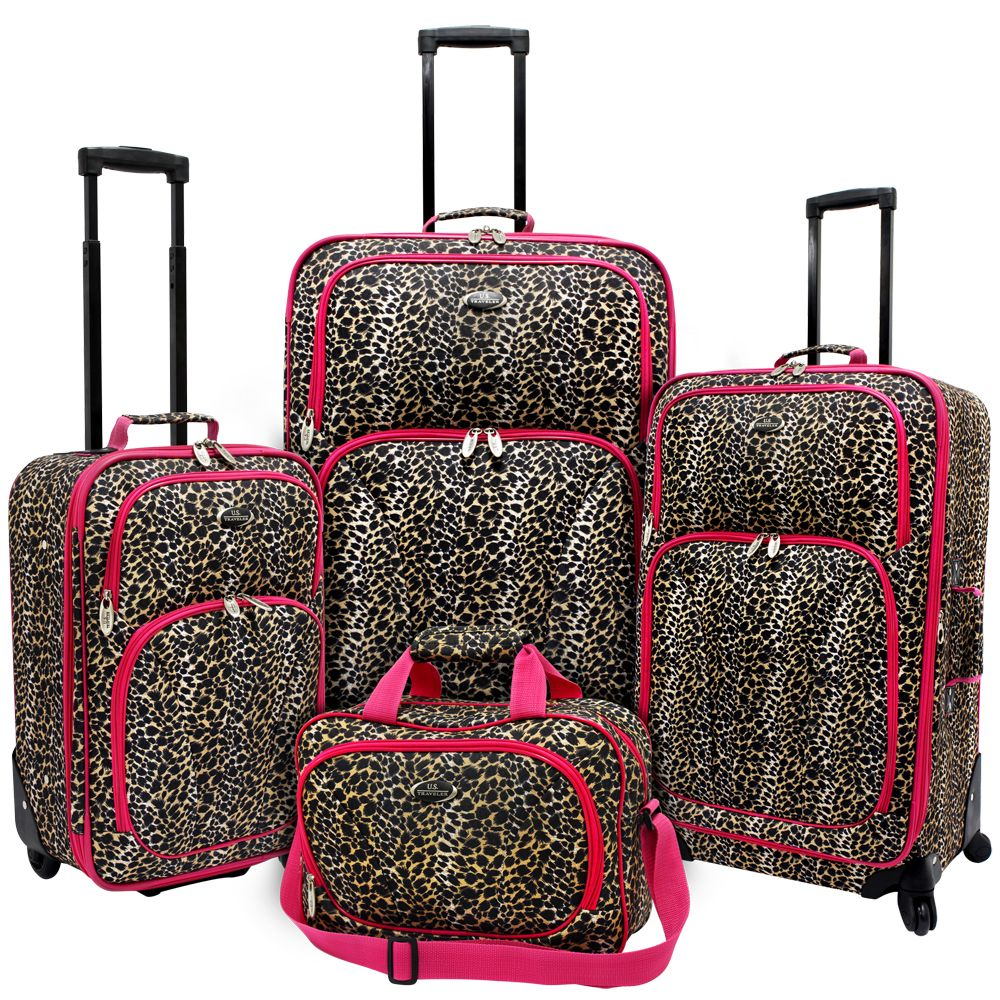 Travel with this fashion-forward 4-piece carry-on set from U.S ...