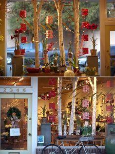 Window Display Visual Merchandising Flower Shop Inspiration