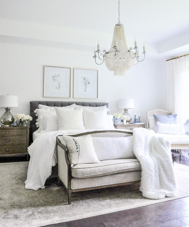 Elegant White Master Bedrooms: Projects And Plans - Exciting Room Updates By