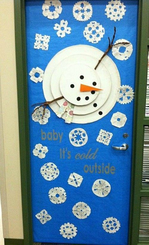 33 Amazing Classroom Doors for Winter and the Holidays -  Amazing Classroom Doors for Winter and th