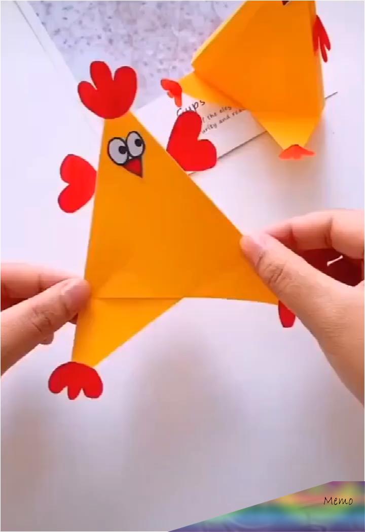 Origami Schwalbe