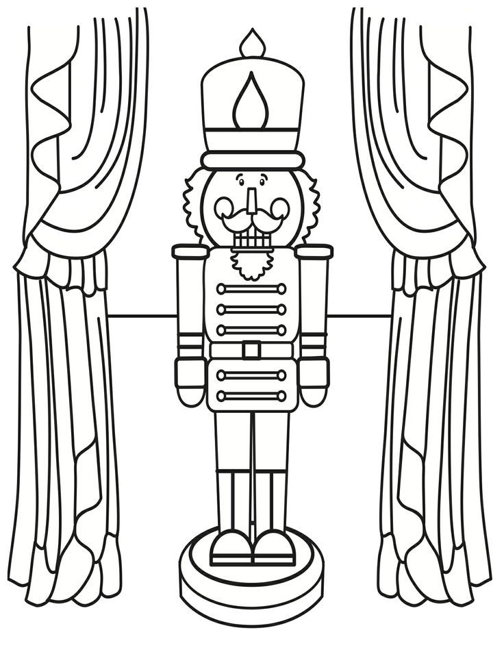 nutcracker coloring book pages - Nutcracker Coloring Pages