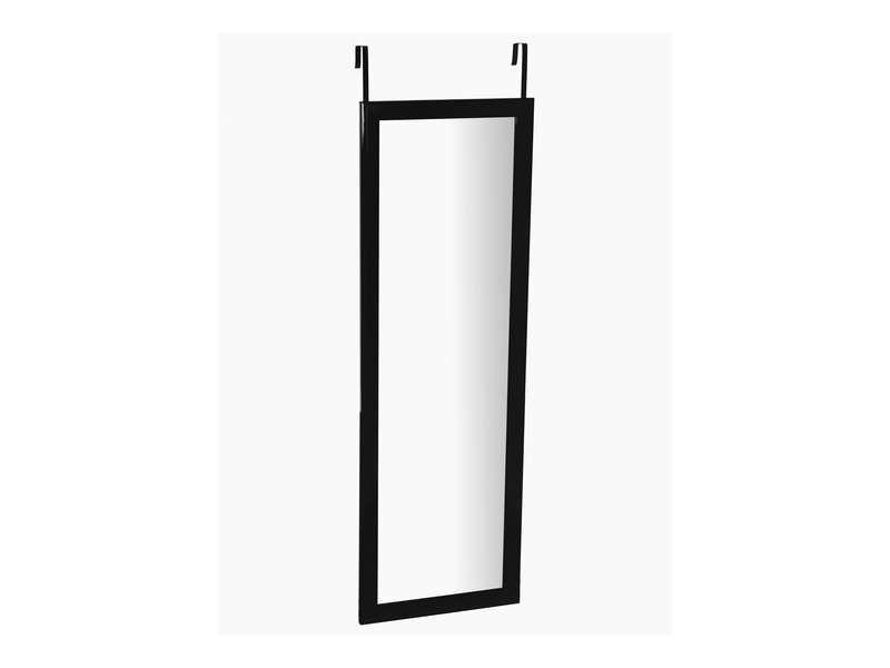 Miroir de porte 110x36 cm CLASS coloris noir - Vente de Miroir sur