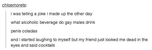 Hilarious gay jokes