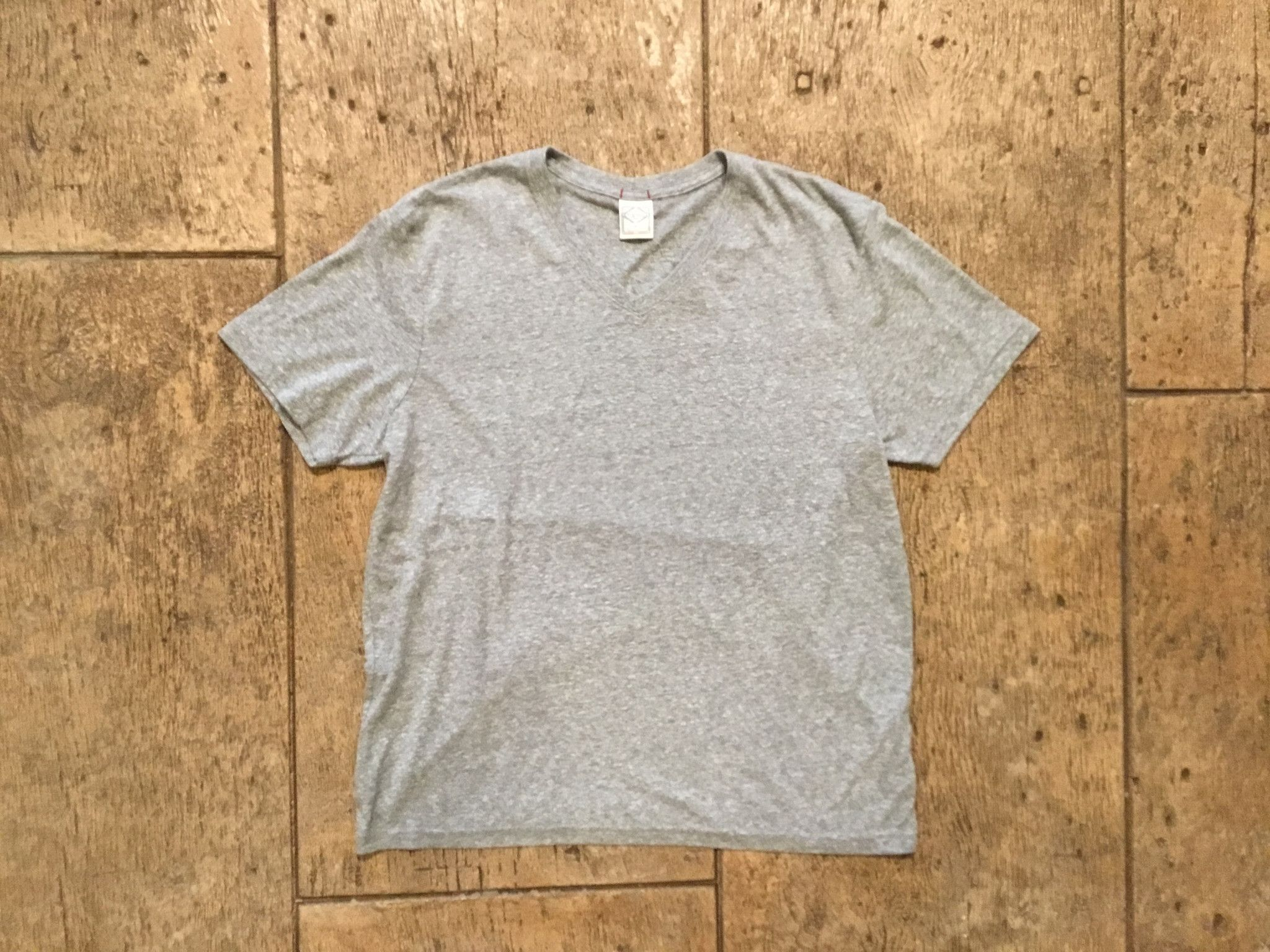 Lucky T Weekend V Neck Grey