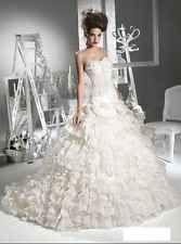 609 Abiti da Sposa vestito nozze sera wedding evening dress