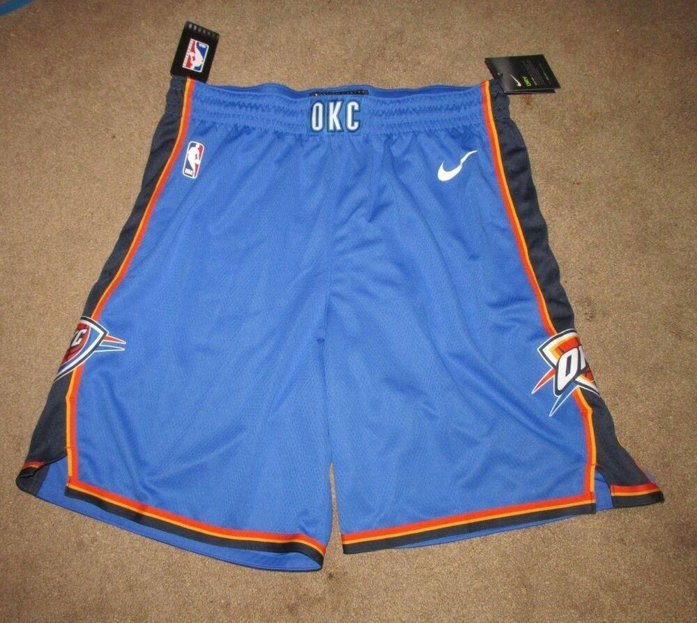 6666f3d5a2c Nike Oklahoma City Thunder Icon Swingman Mens Shorts Blue OKC #Nike ...