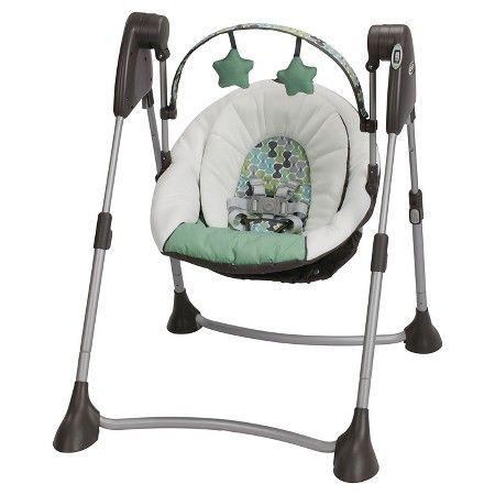 Graco Swing By Me Portable Swing Target Portable Baby Swing Graco Baby Swing Baby Swings