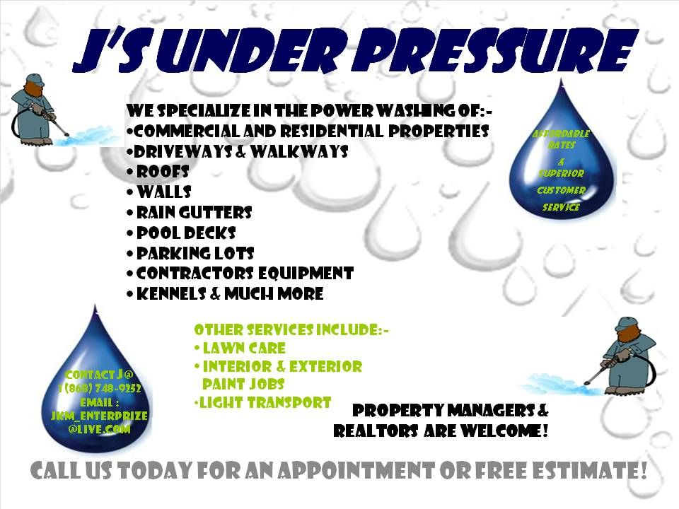 Found On Bing From Junderpressure Blogspot Com Pressure Washing Business Pressure Washing Pressure Washing Services