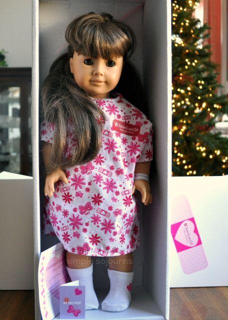 American Girl - Doll Hospital Review & Caroline Abbott Doll ...