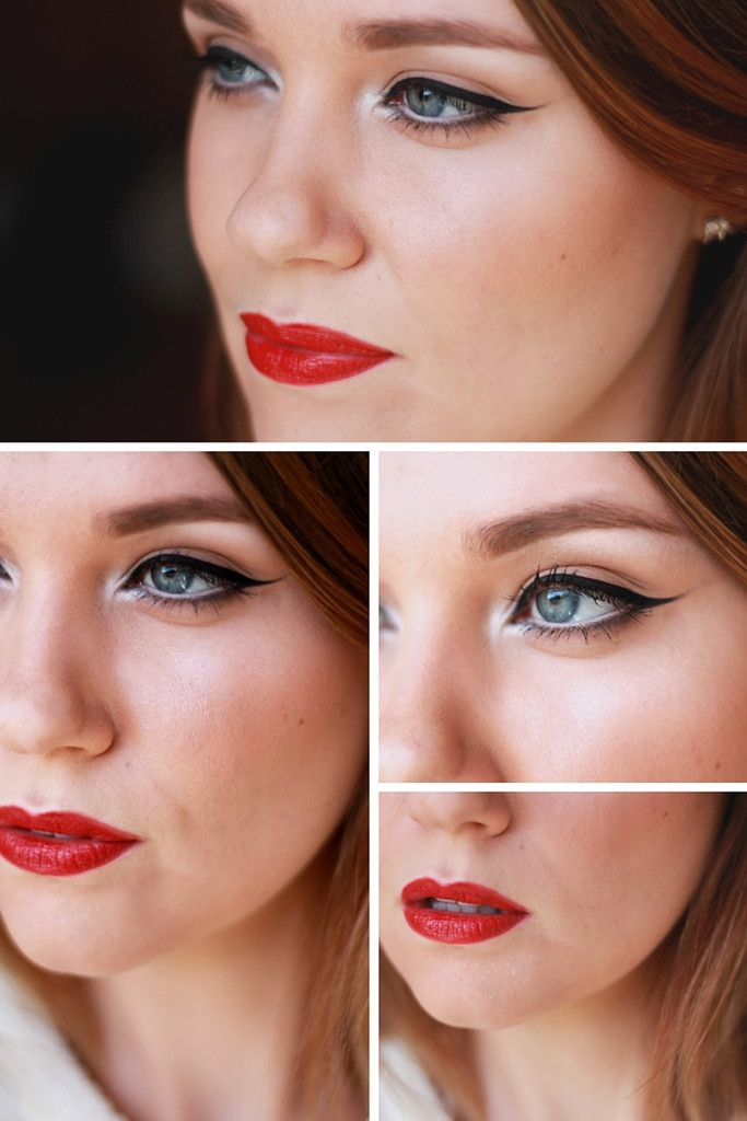 this is the perfect classic evening makeup look using all organic and natural makeup