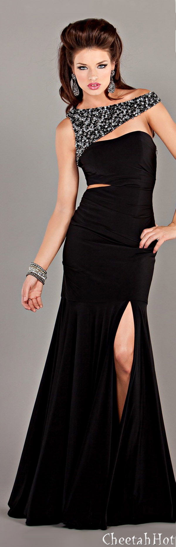 Dresses Page 158 Fashion Gowns Elegant Black Dress Glamorous Dresses [ 1859 x 600 Pixel ]