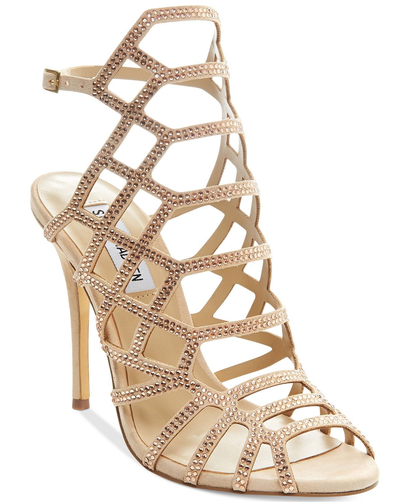 Steve Madden Slithur-r Upfront Evening Sandals - Steve Madden - Shoes -  Macy's