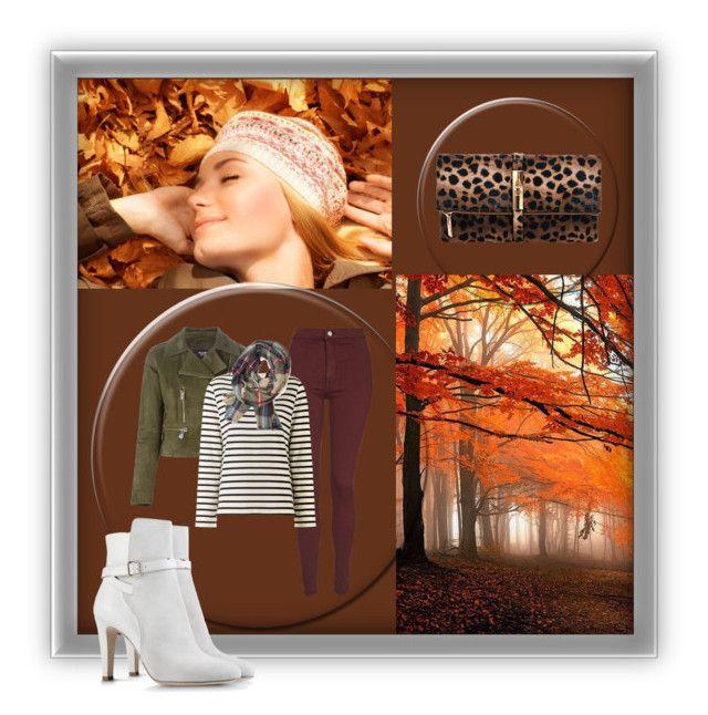 """Autumn leaves"" by somomo4 ❤ liked on Polyvore featuring мода, Versus, Topshop, Petit Bateau и Alberta Ferretti"