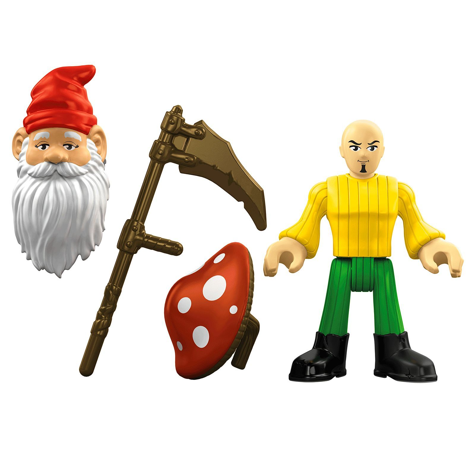 Imaginext gnome mattel kids toys playset action