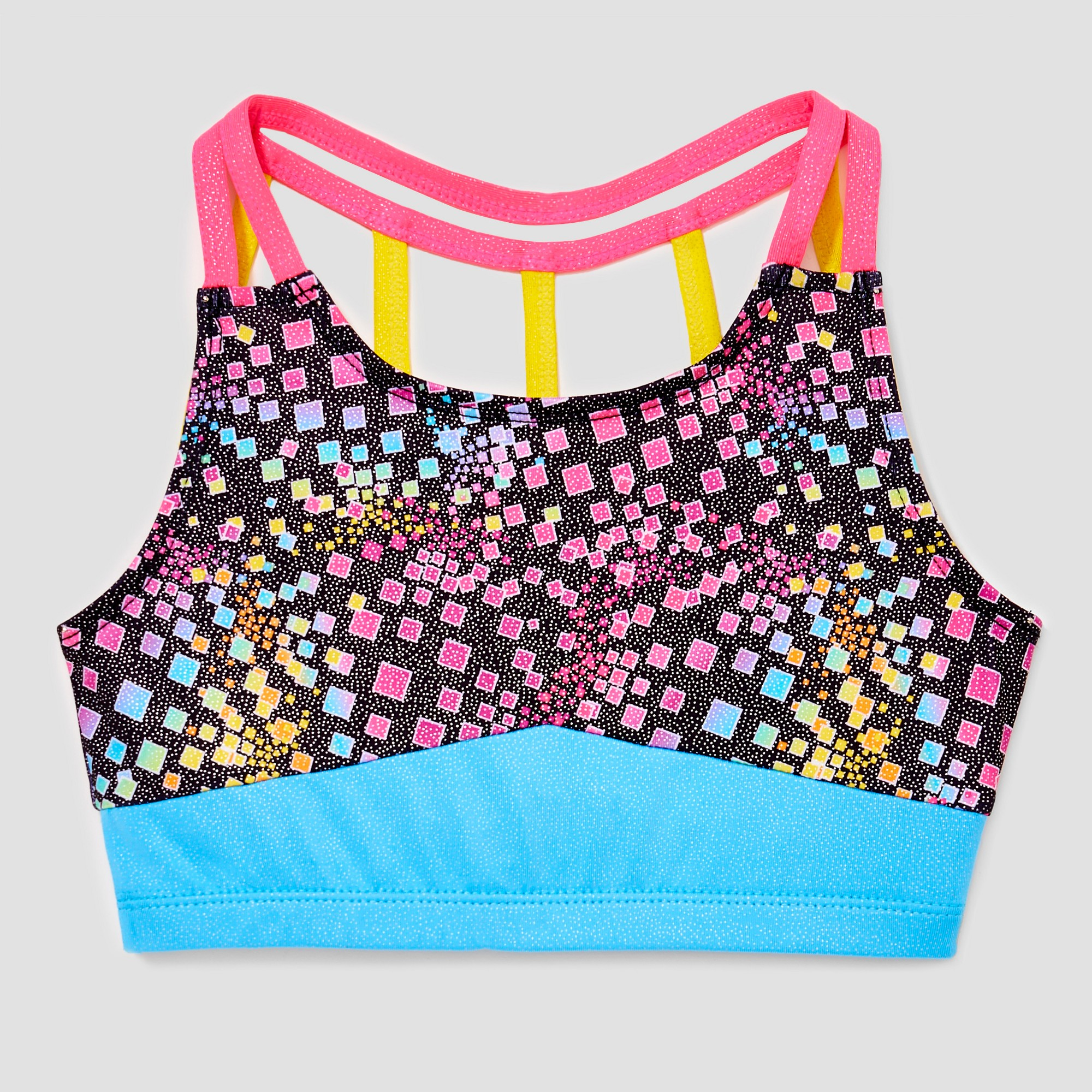 Freestyle by Danskin Girls/' Crop Top Gym Wear Athletic