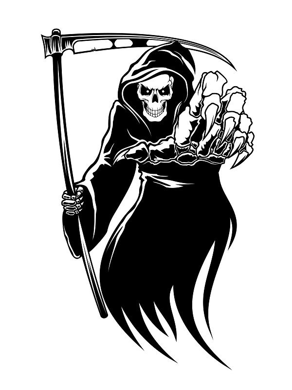 Image result for grim reaper clipart