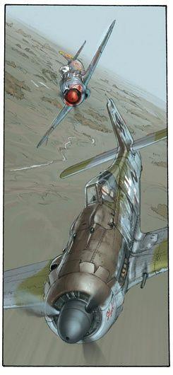Первым делом – самолеты… и Pin-Up. Romain Hugault (130 работ)