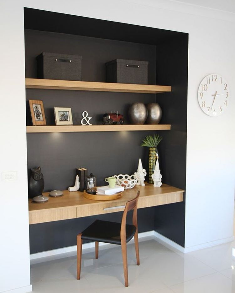 Bedroom Nook Design Ideas Bedroom Colors 2016 Narrow Bedroom Ideas Black Bedroom Cupboards: Huis Interieur, Woonkamer Bureau, Zolder Kantoor