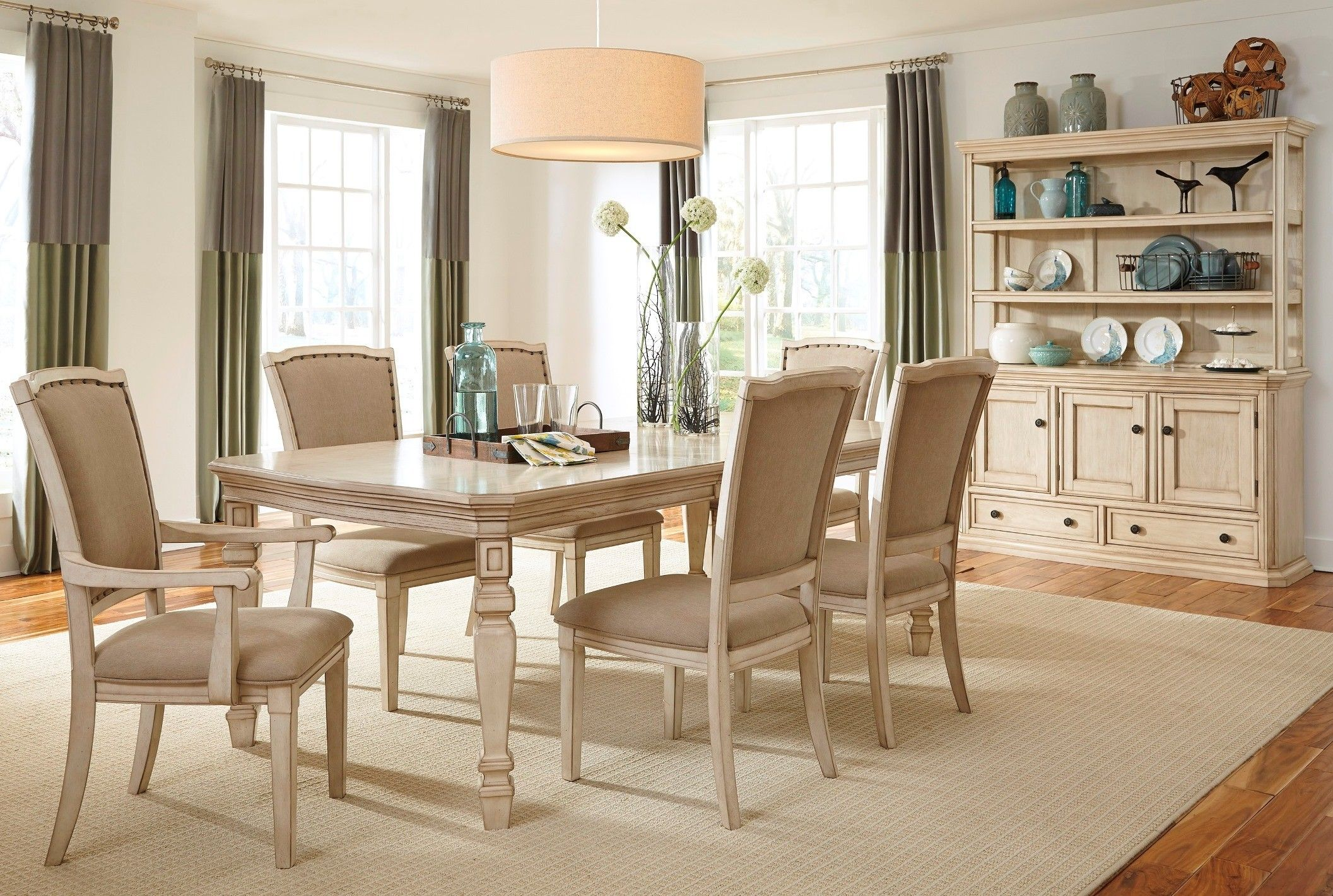 Demarlos Butterfly Extension Dining Room Set House