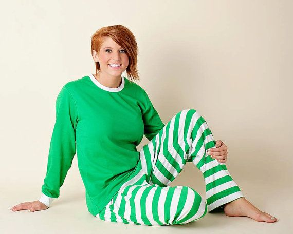Personalized adult christmas pjs adult by oysterbayembroidery