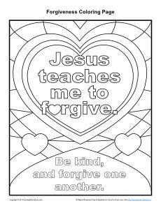 Jesus Teaches Me To Forgive