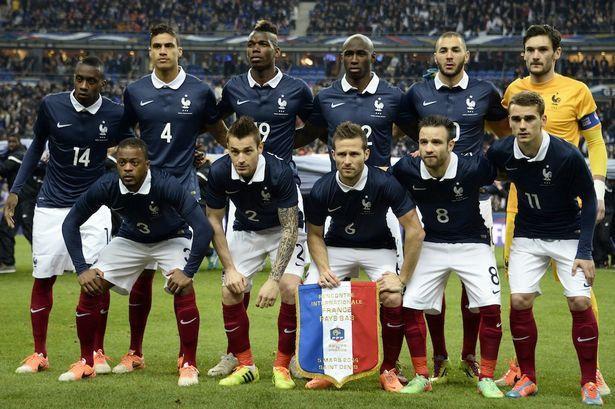 francia vs dinamarca