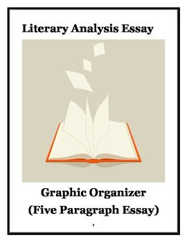 Literary Analysis Essay Graphic Organizer  School Ideas