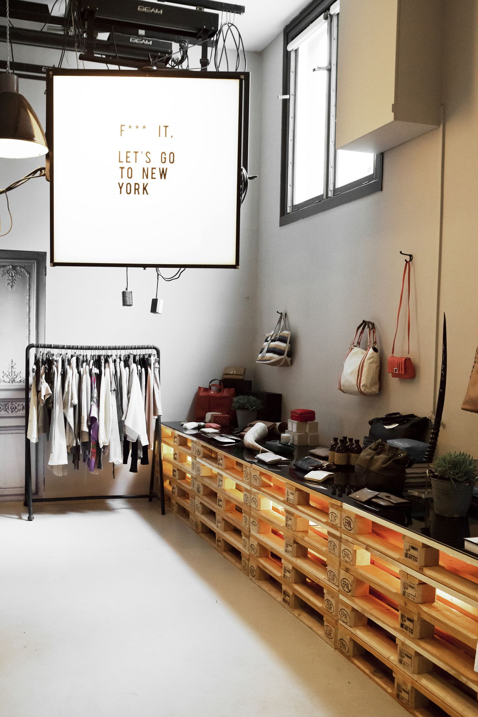The collector store design by bricks amsterdam