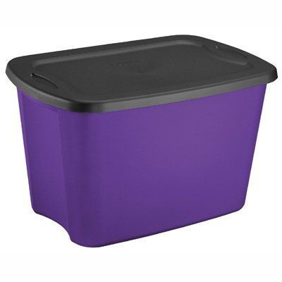 Marvelous Explore Storage Bins, Storage Containers, And More! Sterilite 18 Gallon  Purple ...