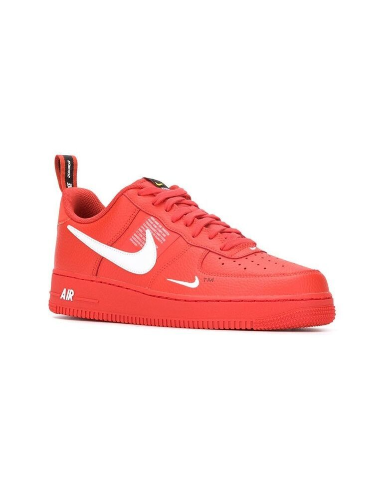 Airforce 1 MID 07 LV8 Utility Orange (Men Size 12) #fashion