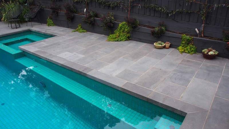 Image Result For Bluestone Pool Okin Residence Pool Pavers
