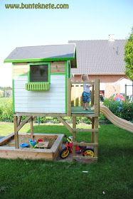 New Spielhaus f r den Garten selber bauen