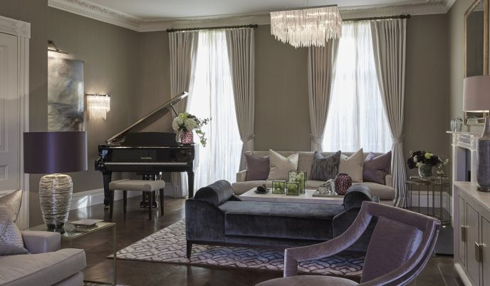 Marylebone apartment luxury interior design laura hammett google search