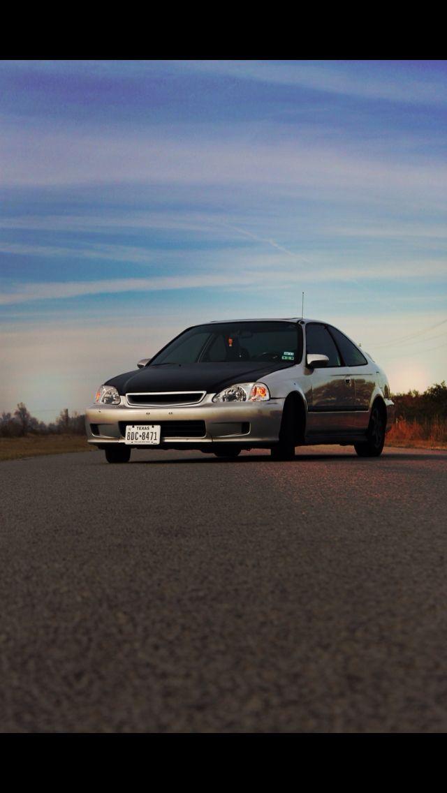 My 2000 Honda Civic Coupe EX