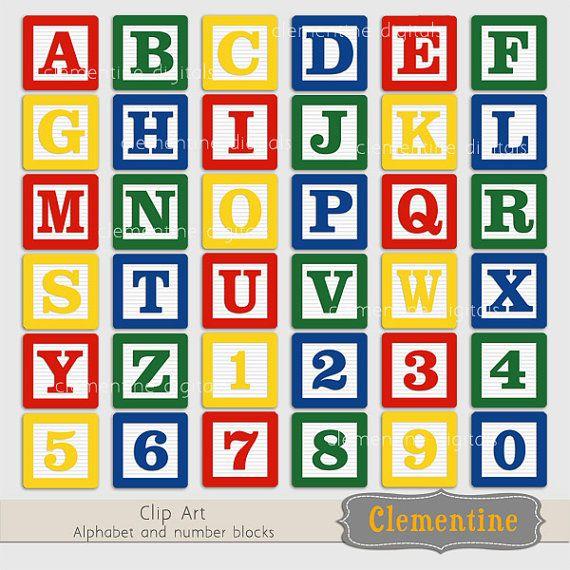 Blue Alphabet Blocks Clip Art Images Baby Blocks Clip Art