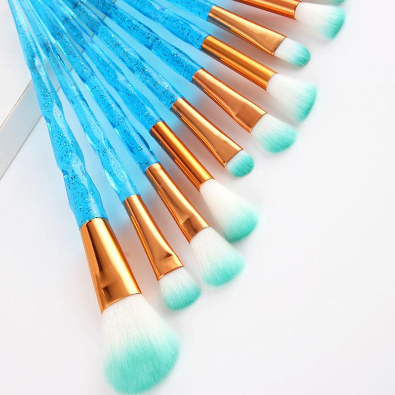 Diamond Makeup Brushes Set Beauty Make Up Brush Tool