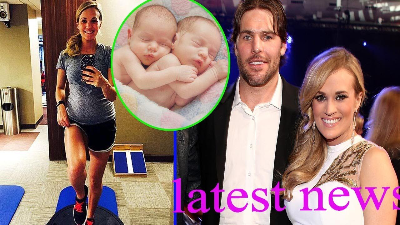 Pregnant Carrie Underwood Is Twins Husband Mike Fisher Expect Two