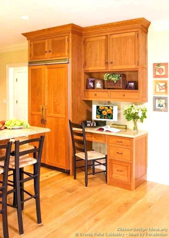20+ Gorgeous and Trending Kitchen Desk Ideas (Scandinavian ...