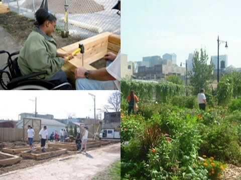 Chicago Botanic Garden Urban Agriculture