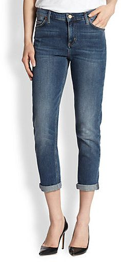 MiH Jeans Tomboy Cropped Slim-Fit Boyfriend Jeans on shopstyle.com