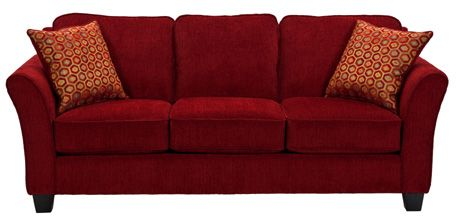 Stanton Sofa 630 in Royal Ruby home dec Pinterest