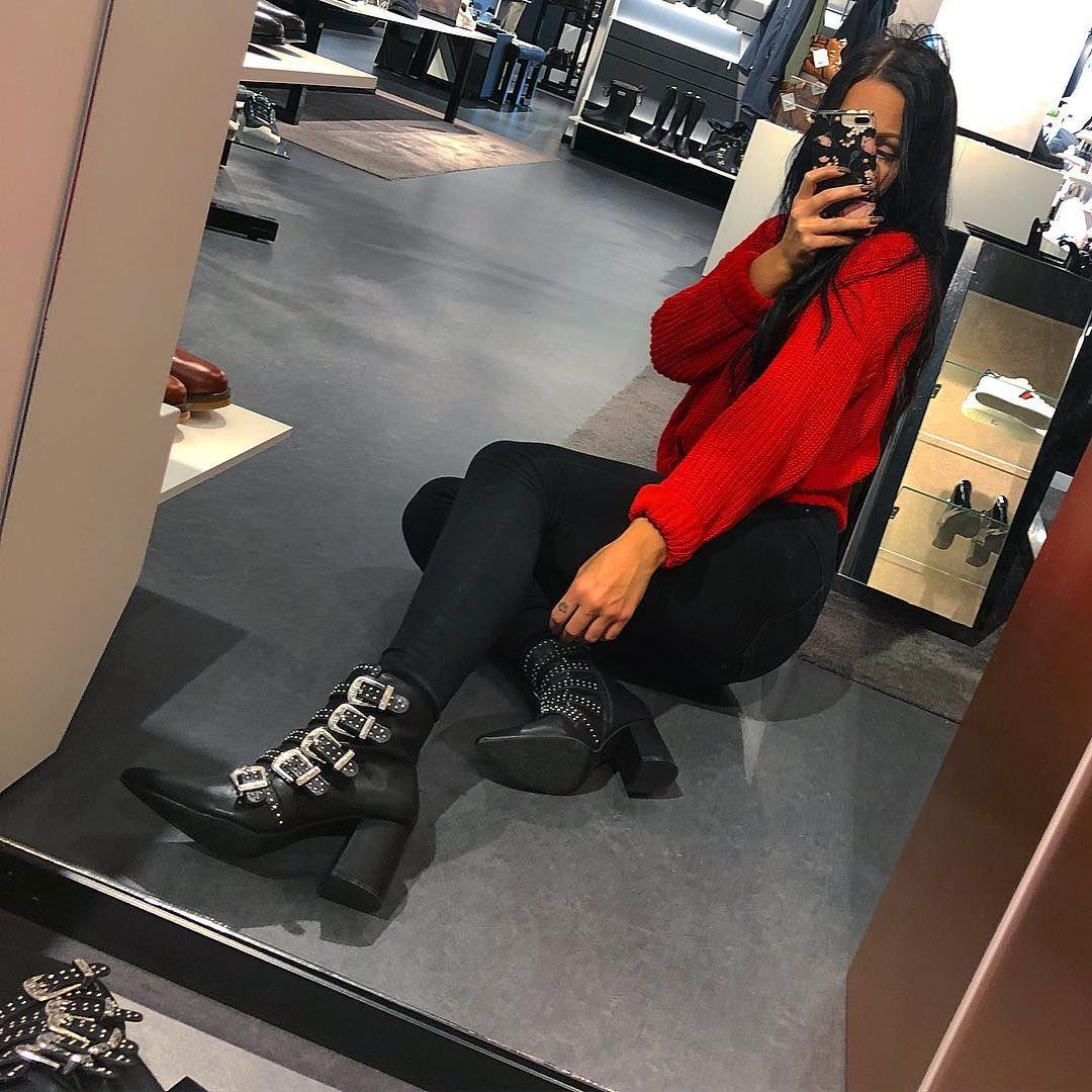 Black Boots   Svarta stövlar, Boots, Sommarskor