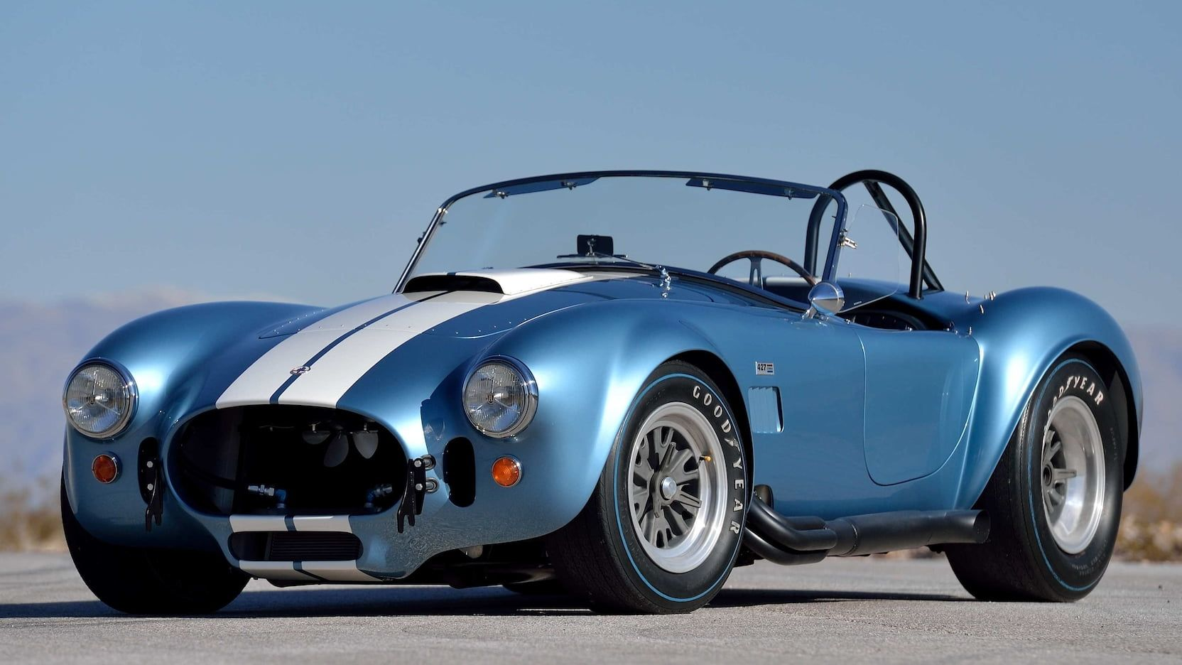 1967 Shelby 427 S C Cobra Roadster Presented As Lot R250 At